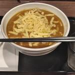 CoCo壱番屋 - カレーうどん(大盛+チーズ)