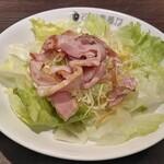 CoCo壱番屋 - レモン香るハーブチキンサラダ(期間限定)