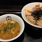 伊駄天 - 味噌とトリュフのつけ麺(大盛) 980円