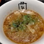 伊駄天 - 味噌とトリュフのつけ麺 つけ汁