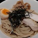伊駄天 - 味噌とトリュフのつけ麺(大盛) 麺