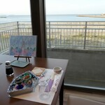お宿 浜田館 - (夕食)テーブル