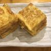 辰巳寿司 - 料理写真:アテの玉子2つ