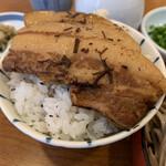 加辺屋 - 煮豚ごはん