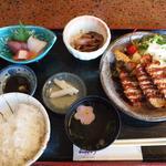 魚山亭 - アジフライ定食
