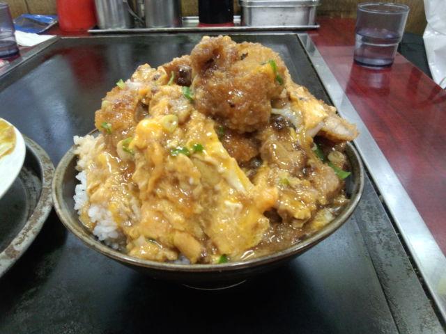 美富士食堂 - カツ丼