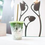 TREE by NAKED - 抹茶ラテ(アイス)明治8年から続く京都・宇治の鳥羽伊茶舗の お抹茶を贅沢に使ったラテ