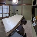 女郎鰻 割烹 福助 - 個室の雰囲気