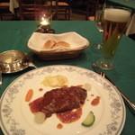 田沢湖ローズパークホテル - 夕食の洋食コース