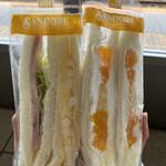 サンドイッチハウス サンドーレ - 料理写真:玉子ハム、フルーツ