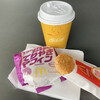 マクドナルド - 料理写真:てりやきマフィンセット、コーヒー