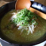 麺豚進 - アボガドWバタートンコツ(ダブルブレンドトンコツ)09.05.13