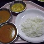 インドレストランKABAB - 取り分けたカレー