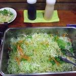 インドレストランKABAB - バイキングのサラダ