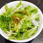 15420080 - 選べる贅沢ランチ(サラダ、2012年10月)