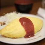 キッチン パンチ - 王道のオムライス