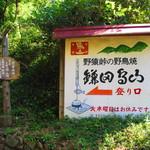 鎌田鳥山 - 看板