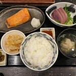 うまいものあり 孝太郎 - 料理写真:ランチ焼きはらす定食 900円税込