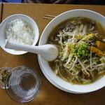 星期菜 - ちゃんぽんみたいな秋野菜のラーメン