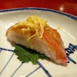 四季 - 凌ぎ (蟹寿司)