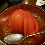厳選和牛 焼肉 犇屋 - めっちゃ冷たいトマト