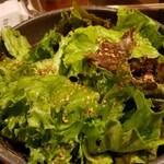 厳選和牛 焼肉 犇屋 - チョレギサラダ