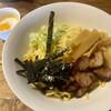 Dining&Bar Acero - 料理写真:パスタを使った油そばの麺ダブル(平打ち麺と温泉卵を選択)
