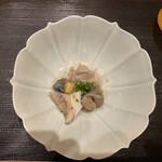 冨久屋 - バイ貝の抱き合わせ