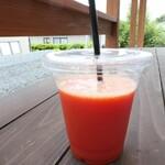 浜ベーカリー あじぱん - (2021/6月)ブラッドオレンジジュース