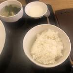 SHANG SHANG 日本橋焼餃子  - 小ライス