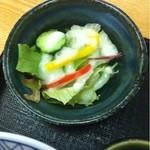 花月庵 - サラダ