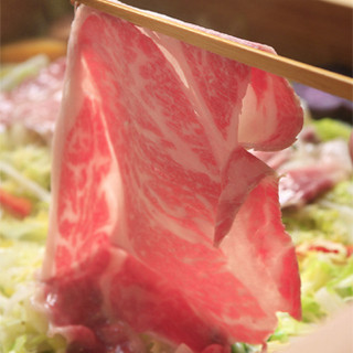 火を通すことで甘くコクのある特有の香りが特徴の松阪牛を是非ご堪能下さい。