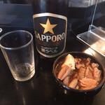 くろ田 - ビール(650円)