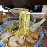 らぁめん とん平 - 麺