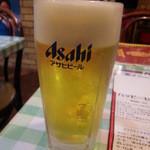 ガネーシュ&バー - 生ビール300円