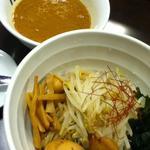 海老だしの哲 - 特製つけ麺。