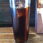 15424652 - ナスと挽き肉のトマトソースパスタセット ¥980 のアイスコーヒー