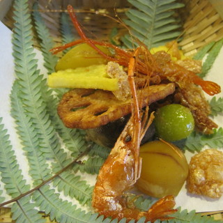 三友居 - 料理写真:秋らしい吹き寄せ