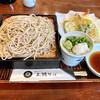三瀬そば - 料理写真:『天せいろ』様(1380円)