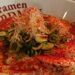 ラーメン バードマン - 料理写真:RED CHICKEN(ピリ辛) 2021.07.07