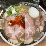 すごい煮干ラーメン凪 - ■特製煮干ラーメン¥1150