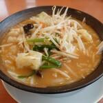 幸楽苑 - 料理写真:味噌野菜たんめん