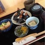 天ぷら和食 さくや - レディースセットの和  1050円