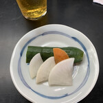 とんかつ 五郎十 - 料理写真:漬物