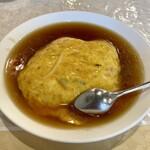 桃園亭 - 料理写真:天津飯