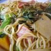 シルクロード - 料理写真:②野菜とベーコンの醤油パスタ