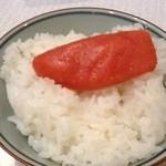 15427768 - 辛子明太子ご飯が旨い