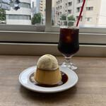 154273125 - プリン(500円)                       +バニラアイスのせ(100円)                       アイスコーヒー(600円)