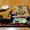 歌行燈ゑべっさん - 料理写真:穴子天丼セット(二八そば)