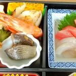 154278268 - お刺身、主菜